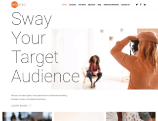 swaygroup.com screenshot