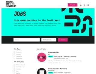 swcreativejobs.co.uk screenshot