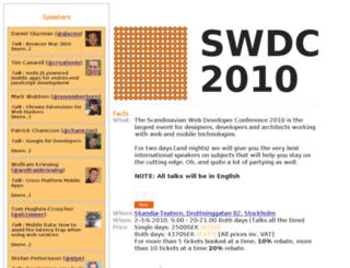 swdc-central.com screenshot