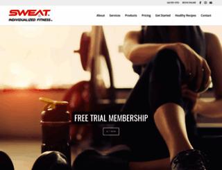 sweatchallenge.com screenshot