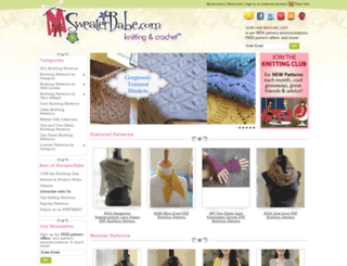 sweaterbabe.com screenshot