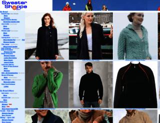 sweatershoppe.com screenshot