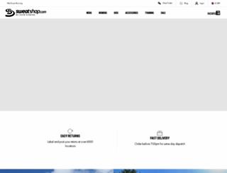 sweatshop.co.uk screenshot