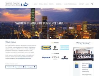 swedchamtw.org screenshot