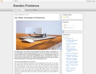 swedenfreelance.blogspot.se screenshot