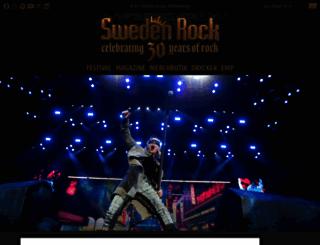 swedenrock.com screenshot
