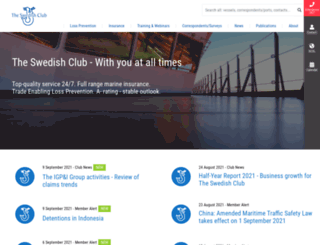 swedishclub.com screenshot