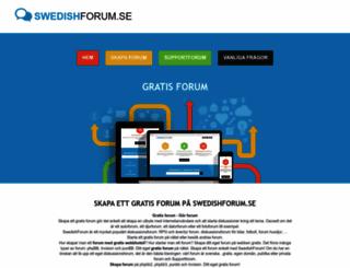 swedishforum.net screenshot