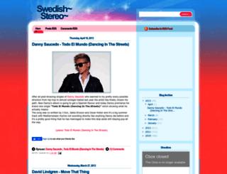 swedishstereo.blogspot.dk screenshot