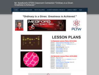 swedlundbiology.weebly.com screenshot