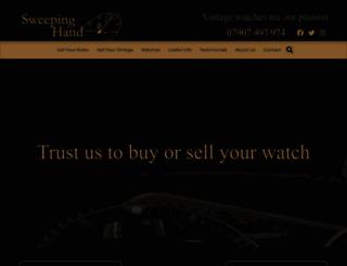 sweepinghand.co.uk screenshot