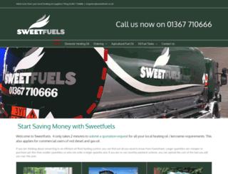 sweet-fuels.co.uk screenshot