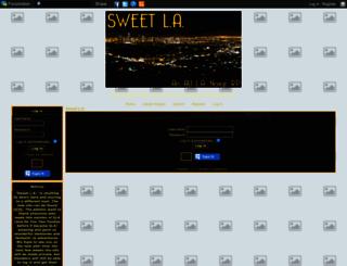 sweet-los-angeles.forumotion.net screenshot