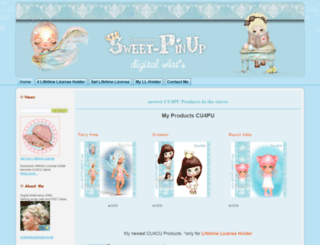 sweet-pinup.de screenshot