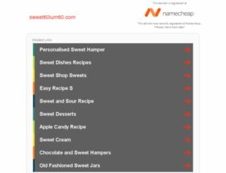 sweet60ium60.com screenshot