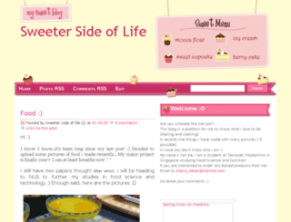 sweetaeration.blogspot.com screenshot