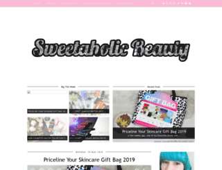 sweetaholic-beauty.com screenshot