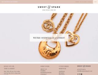 sweetandspark.com screenshot