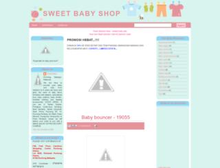 sweetbabyshop.blogspot.com screenshot