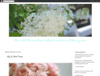 sweetbouquets.blogspot.com screenshot