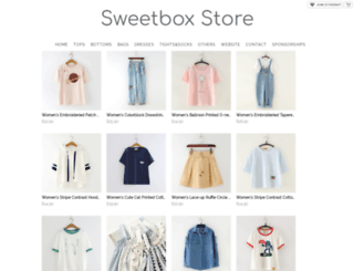 sweetbox.storenvy.com screenshot