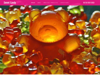 sweetcandy.com.mx screenshot