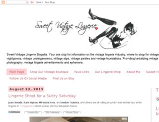 sweetcherryvintagelingerie.blogspot.com screenshot