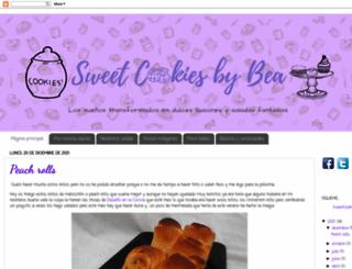 sweetcookiesbybea.blogspot.mx screenshot