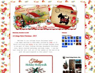 sweetcottagedreams.blogspot.com screenshot