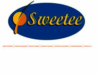 sweetee.net.au screenshot