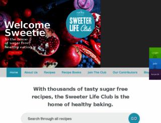 sweeterlifeclub.com screenshot