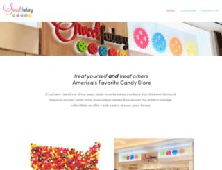 sweetfactory.com screenshot