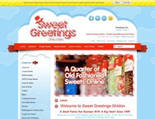 sweetgreetingsshildon.co.uk screenshot