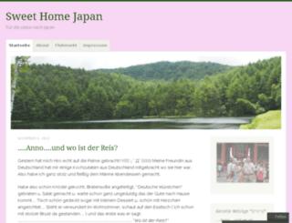 sweethomejapan.wordpress.com screenshot