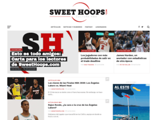 sweethoops.com screenshot