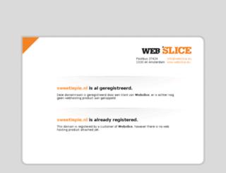 sweetiepie.nl screenshot