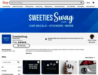 sweetiesswag.com screenshot