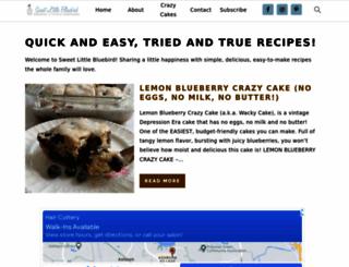 sweetlittlebluebird.com screenshot