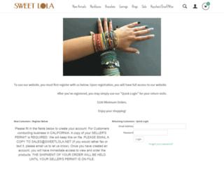 sweetlola.net screenshot