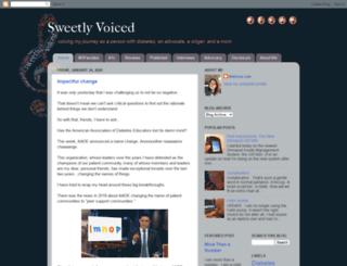 sweetlyvoiced.com screenshot