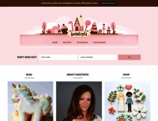 sweetopia.net screenshot