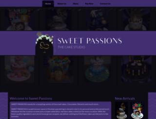 sweetpassions.com screenshot