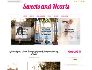 sweetsandhearts.com screenshot