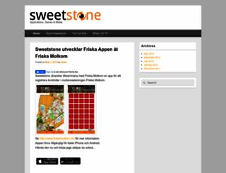 sweetstone.se screenshot