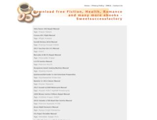 sweetsuccessfactory.com screenshot