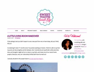 sweettoothsweetlife.com screenshot