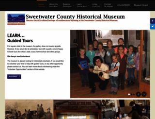 sweetwatermuseum.org screenshot
