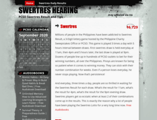 swertres.wordpress.com screenshot