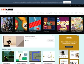 swfgames.in screenshot