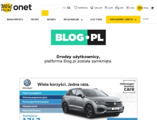 swiat-anetki.blog.pl screenshot